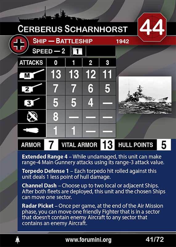 Gloire Axis /& Allies War At Sea - War at Sea U