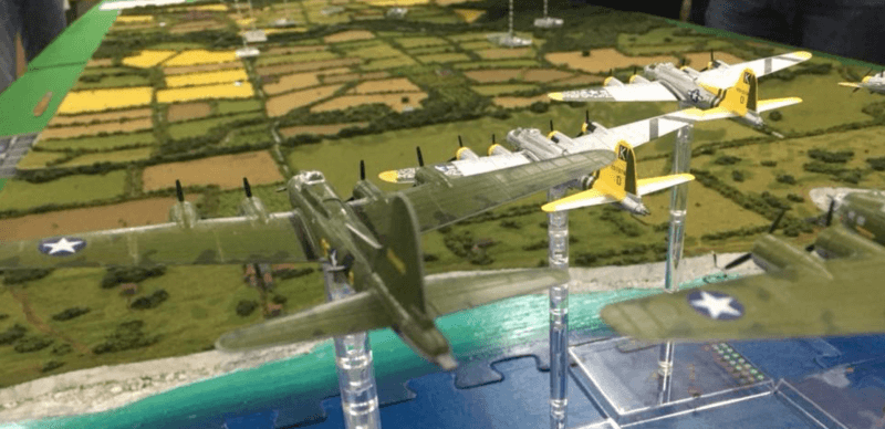 Wings of Glory B17 Flying Fortresses.